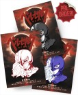 Berserk Griffith Femto Triple Set With Nega Edition Soft Enamel Pin With Epoxy ScreenPrint By Respect