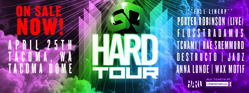 Go HARD Tour is coming to Seattle!   Respect My Region