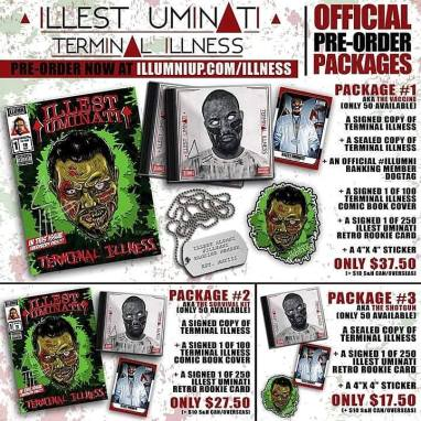 Illest Uminati Terminal Illness album september 18