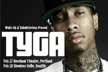 tyga at showbox sodo