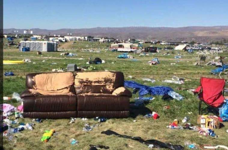 watershed 2016 leaves huge mess at the gorge