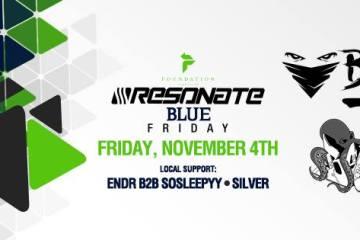 Resonate Blue Fridays w/ Beauflexx & Bandit