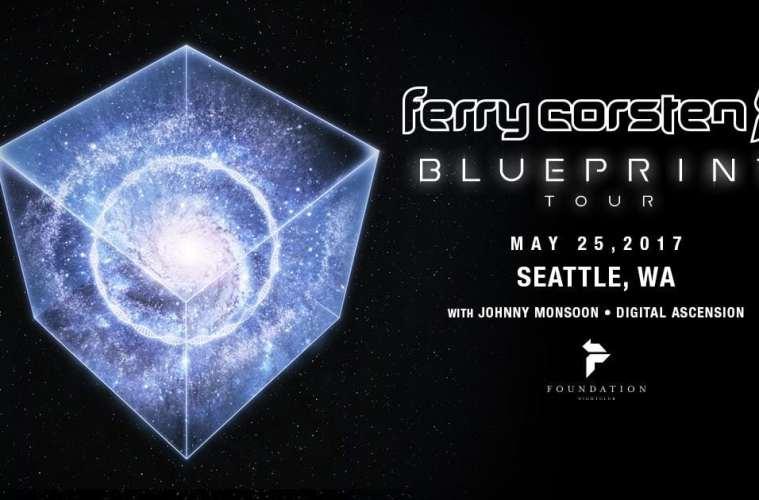 Ferry Corsten Releases 'Blueprint' Album Trailer