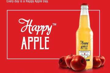 RMR Reviews Happy Apples Weed-Infused Sparkling Apple Cider