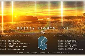 Pretty Lights at The Gorge Amphitheater August 4th & 5th