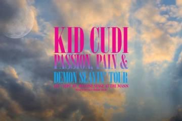 Kid Cudi Pain & Demon Slaying Tour