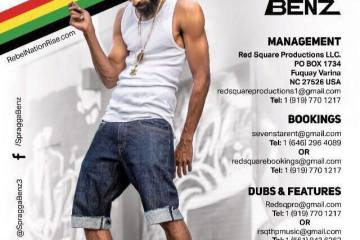 """Spragga Benz Releases Latest Single """"Spread Out"""" ft. Hype & Fever"""