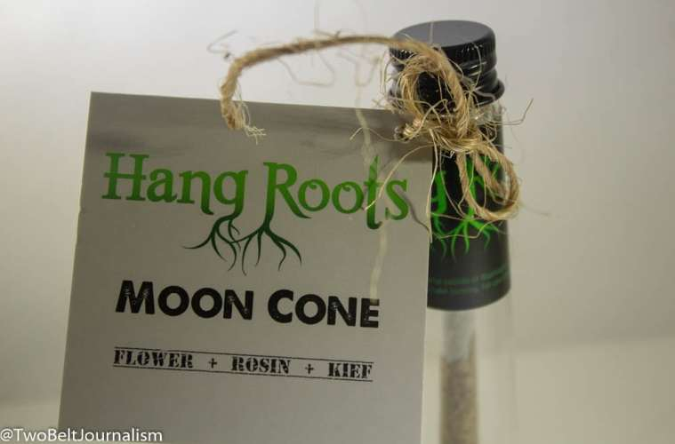 Hang Roots Moon Cone Pre-Roll Review (Feat. Dat Cookie Dough)
