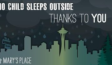 Support No Child Sleeps Outside Campaign And Mary's Place