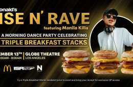 McDonalds Is Hosting A Breakfast-Themed Rave in LA: Get The Details