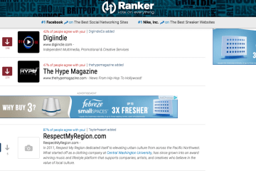 Vote For Respect My Region As The Top Hip-Hop Blog On Ranker.com
