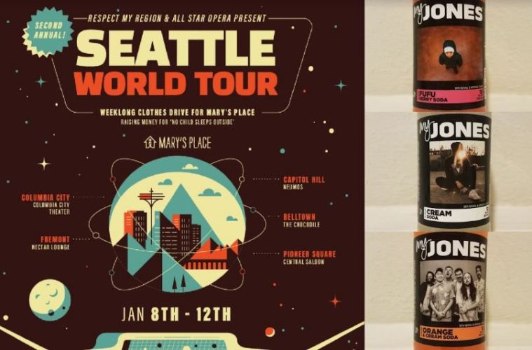 Seattle World Tour Special Edition