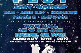 Check Out Plugintheox's Polar Fest On January 12th In Eugene, OR