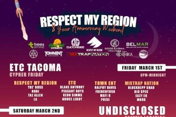 Respect my region 8 year anniversary