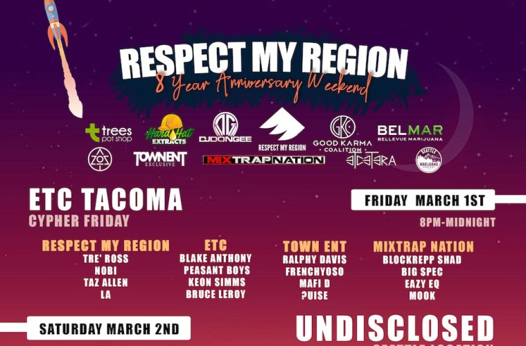 Respect my region 8 year anniversary