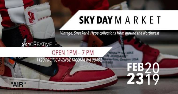 Sky Day Market To Feature Local Street Fashion At Sky Creative In Tacoma