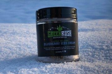 greenrush blueberry iced cream strain review
