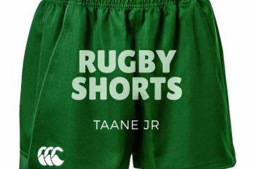 Taane Jr Rugby Shorts