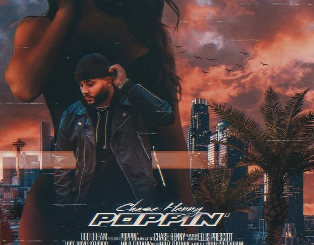 """Chase Henny Pours Out His Soul On """"Poppin"""" Featuring Ellis Prescott"""