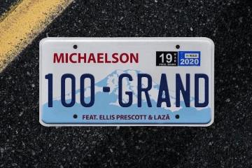 "Michaelson At Long Last Premiers His Official Debut Single ""100 Grand"" Featuring Laza And Ellis Prescott"