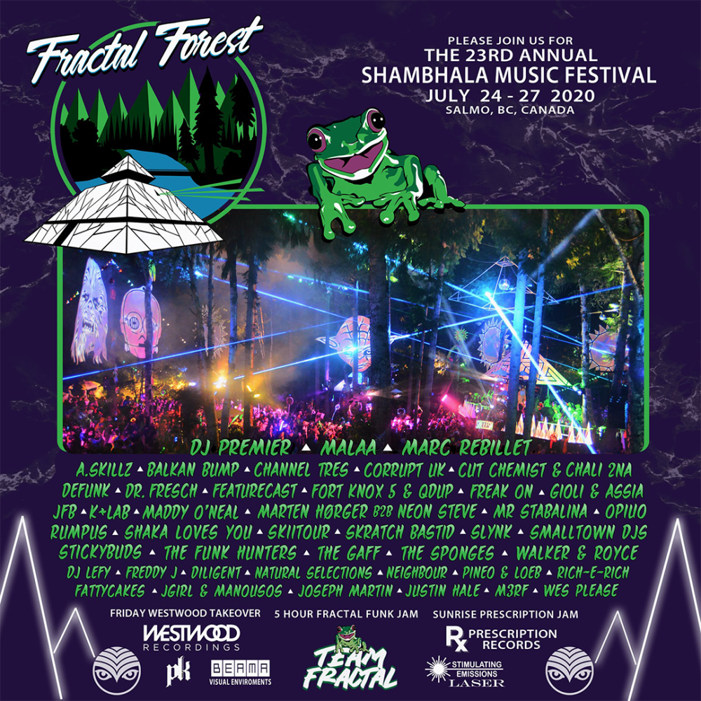 Shambhala Music Festival Announces Artists + Stage Lineups For 2020 Event (MORE UPDATES TBA)