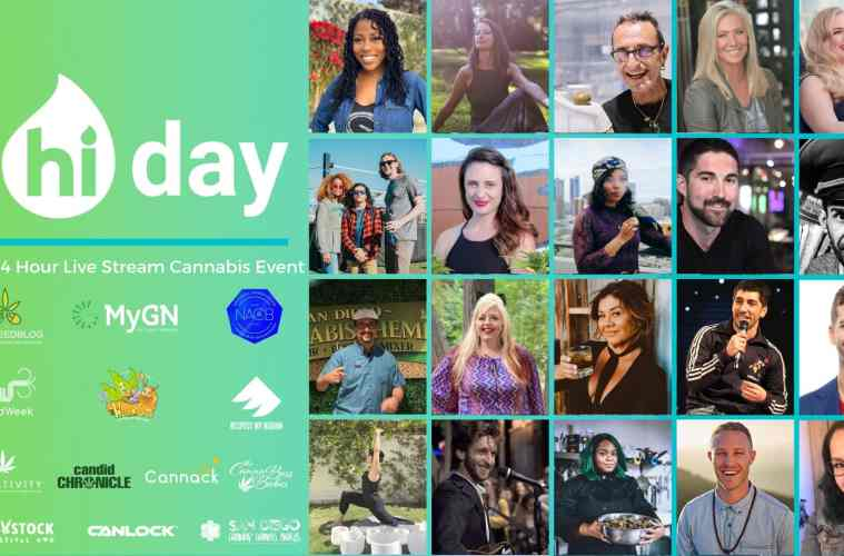 """EventHi's Inaugural """"Hi Day"""" Will Feature 23 Back-To-Back Hours of Live-Stream Events Showcasing Cannabis Culture"""