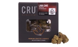 The Rich And Sweet Lava Cake Strain May Be More Satisfying Than The Dessert