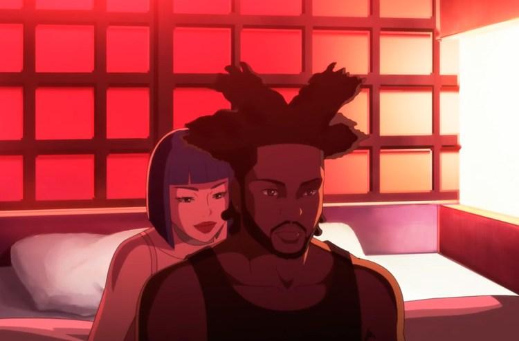 "Black-Owned Anime Studio D'ART Shtajio Creates Stunning Visuals For The Weeknd's ""Snowchild"""