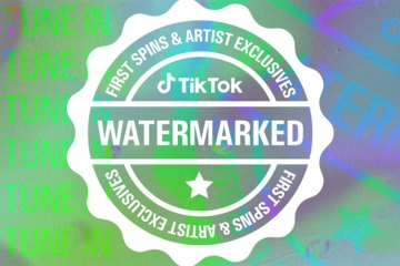 TikTok Watermarked Logo