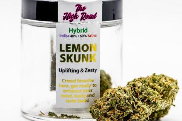 Lemon Skunk Strain Review Featuring The High Road In Spokane, Wa