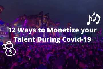 12 ways musicians can monetize their talent during covid-19