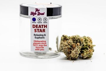 Death Star Strain Review Featuring The High Road In Spokane, Wa