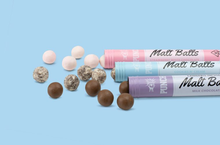 California's Punch Edibles Introduces Five New Flavors Of Chocolate Malt Balls And Cookie Delights
