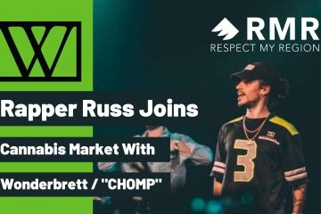 rapper russ weed brand chomp wonderbrett