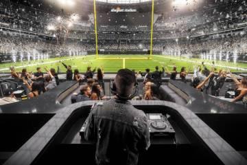 Las Vegas Raiders Wynn Resorts nightclub