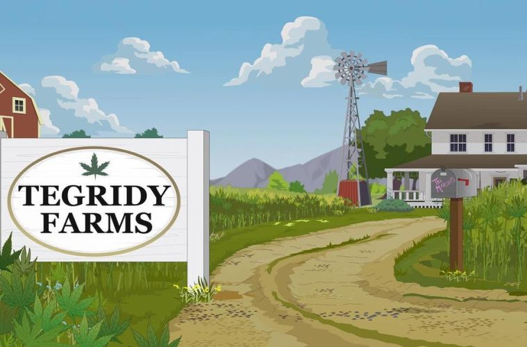 """South Park's """"Tegridy Farms"""" is Becoming a Real Cannabis Brand as Trey Parker and Matt Stone Explore New Ventures."""