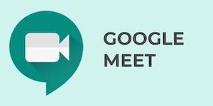 Google Meet icona