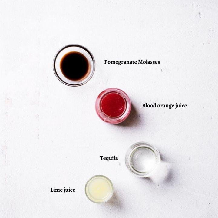 Blood Orange Margarita Ingredients