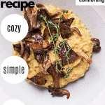 Vegan Polenta with Roasted Mushrooms
