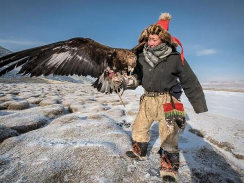 Image result for Hunt With Eagles in Remote Mongolia