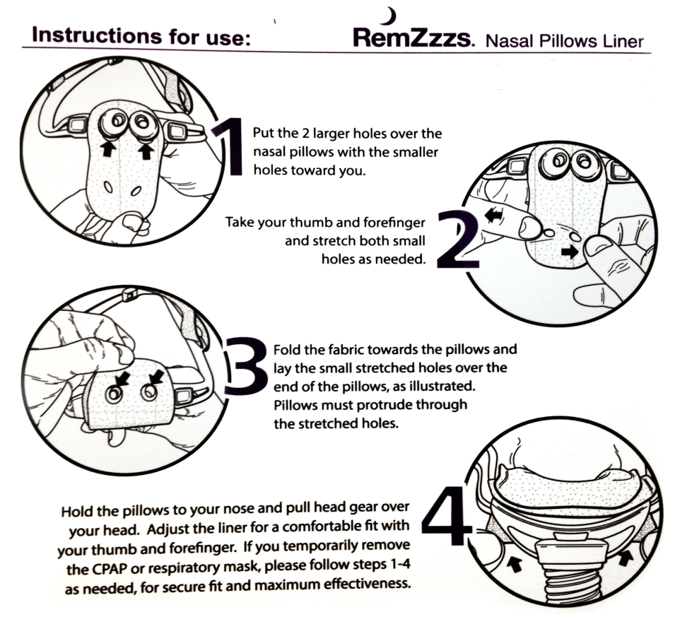 remzzzs cpap mask liners 30 day supply