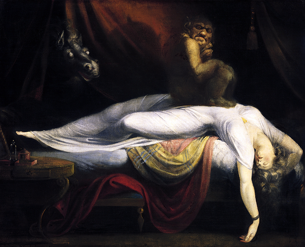 Henry Fuseli, The Nightmare, 1781, oil on canvas,