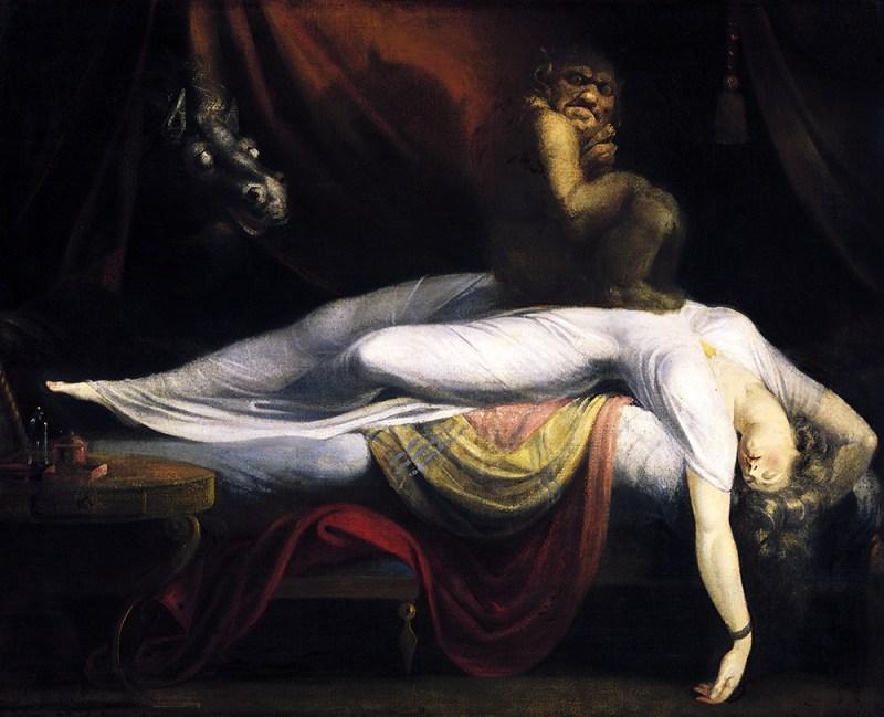 Henry Fuseli, The Nightmare, 1781, oil on canvas,