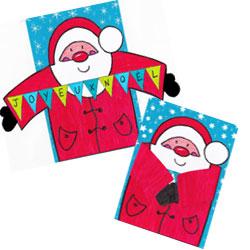 Carte de Noël à colorier   Un monde meilleur