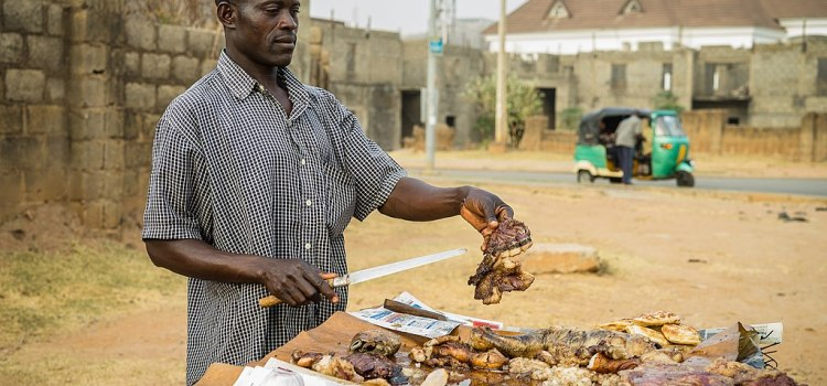 Street foods in Nigeria