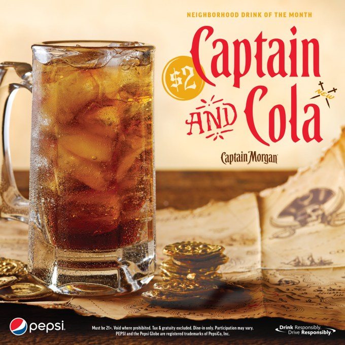 captain and cola