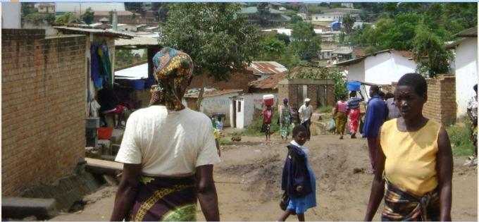 Ndirande township in Blantyre