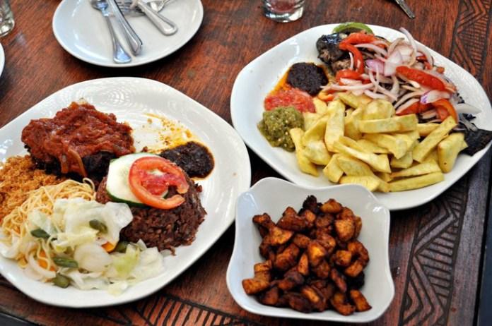 Waakye, Kelewele & Fried Yaw