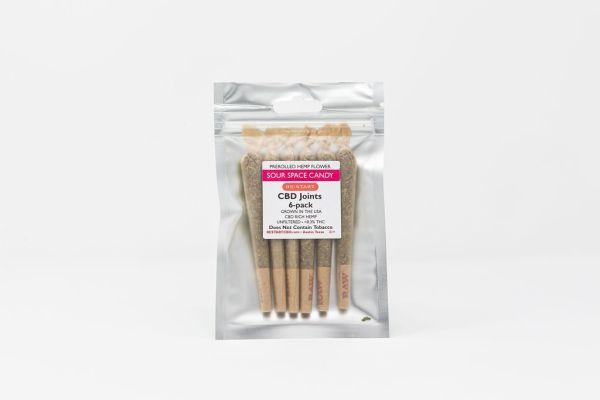 RESTART CBD Flower - Space Candy Preroll 6-pack
