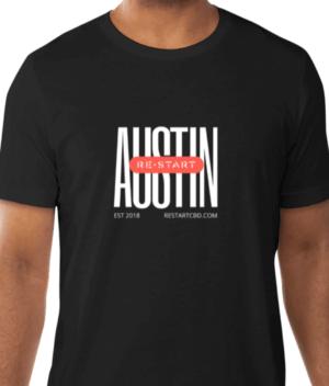 Restart CBD Austin T-shirt